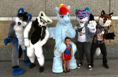 https://flic.kr/p/yhMA6b | Local Furries welcome Supergirl, from DC Comics