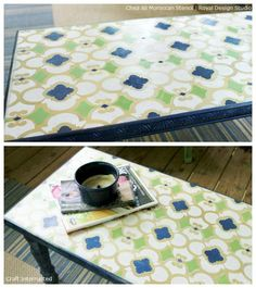 Inspiring Before + After Stenciled Furniture Projects!