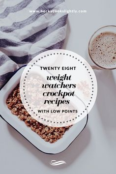 28 Slow Cooker Recipes for Weight Watchers, With Low Points #weightwatchers…
