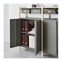 IVAR 2 section storage unit w/cabinets  - IKEA