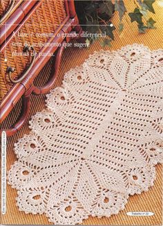 Crochet Knitting Handicraft: Rugs