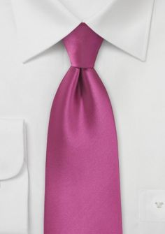 Men's Necktie in Violet Color - This stunning pure microfiber necktie is both stain and wrinkle resistant due to it's convenient material. With a radiant aesthetic in an orchid color, this necktie tru Orchid Color, Cute Wedding Ideas, Wedding Inspiration, Pink Ties, Shades Of Purple, Pretty In Pink, Orchids, Mens Fashion, Pure Products