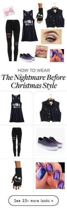 """""""My first outfit!"""" by kawaiikitten on Polyvore featuring Vans"""