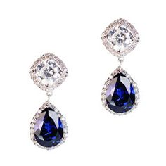 #ciro #pearl #bridal #cz #BurlingtonArcade #blue #silver #sapphire