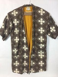 c0ea7be3b ROYTEX Kimono Robe VTG One Size Floral Brown Mens Smoking Lounge 50s 60s  GUCCI/7 #fashion #clothing #shoes #accessories #vintage  #mensvintageclothing (ebay ...
