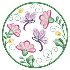All Around Blooms 06(Sm) machine embroidery designs