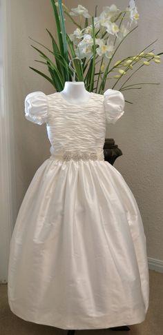 First Communion Dress, Holy First Communion Dress, 1st Communion Dresses, Confirmation Dresses, Junior Bridesmaid Dress, Flower Girl Dress on Etsy, $269.99