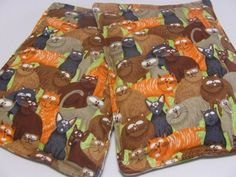 Microwave Heating Pad Pillow Cats and Yarn Microwave Heating, Heating Pads, Neck And Shoulder Pain, Animal Pillows, Gingerbread Cookies, Cats, Handmade, Food, Gingerbread Cupcakes