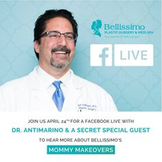 Are you on the fence about getting a mommy makevoer? Watch this video of Dr. Antimarino and patient Michaeleen discussing the ins and outs of the procedure! Board Certified Plastic Surgeons, Mommy Makeover, Special Guest, Plastic Surgery, Presentation, Medical, This Or That Questions, Facebook, Watch