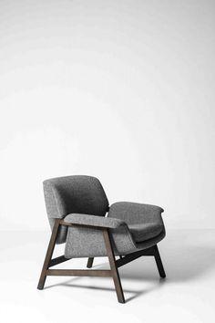 Gianfranco Frattini; #849 Armchair for Cassina, 1956. #ChairDesign