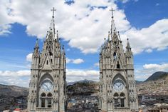 Quito old town, Ecuador: The Basilica