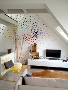 In Need For Design: paint chip wall art