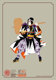 47 Ronin - Manga by Emanuele Tenderini, via Behance