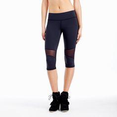 Michi - Motorino Crop (below knee) Pant - Black