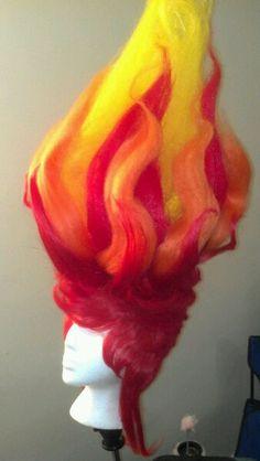 Costume Wigs. $250.00, via Etsy.