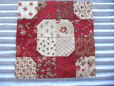 Sew Many Ways...: Block of the Month Club #1...Bow Tie. Tutorial.