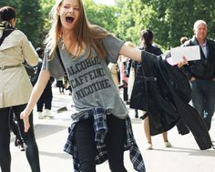 Funny t-shirt #lfw #streetstyle