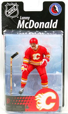 NHL Calgary Flames Sports Picks Exclusive Lanny McDonald Exclusive Action Figure for sale online Lanny Mcdonald, Nhl, Sports Games For Kids, Sports Picks, Calgary, Action Figures, Baseball Cards, Toys, Polymer Resin