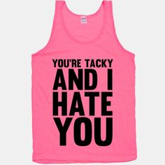 Youre tacky and I hate you -School of Rock School Of Rock, School Fun, Pretty Outfits, Cool Outfits, Beautiful Brown Eyes, Brown Eyed Girls, Shirts With Sayings, Types Of Fashion Styles, Funny Shirts