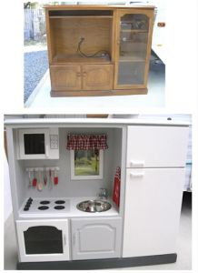 I'd rather have a play kitchen like this for my daughter than the cheep crappy one I bought for her 3 years ago!