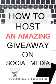 Do you want to host a giveaway? Then you need to follow some rules. Here are some ideas to host a giveaway on Instagram, Facebook, Pinterest or your blog. With this promotional game, you can gain more visitors on social media and increase and boost your blog traffic.