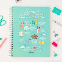 Ebbene si, sono arrivati già i nuovi bellissimi, coloratissimi e super positivi quaderni wonder. Oggi vi presentiamo quello dedicato alle avventure, buone o cattive, tutte le avventure devono essere raccontate! #mrwonderfulshop