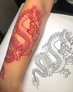 Red Ink Tattoos, Mini Tattoos, Body Art Tattoos, Small Tattoos, Tatoos, Geisha Tattoos, Belly Tattoos, Eagle Tattoos, Irezumi Tattoos