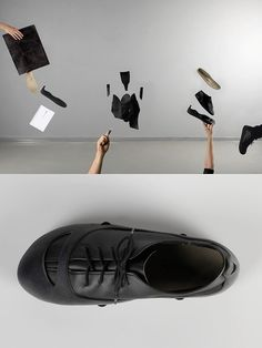 'Creo Shoe Concept' by Jennifer Rieker is a glue-free shoe that supports local shoemakers.