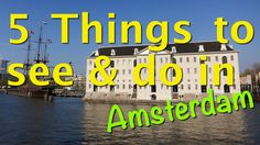 Check out our latest video! #Amsterdam #travel #art #ships #boats
