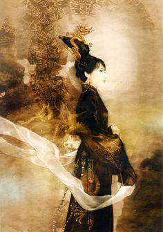 NEW DIY Diamond Painting Chinese Ancient Beauty Mosaic Embroidery Cross Stitch Home Decor Creative Gift Chinese Painting, Chinese Art, Chinese Opera, Art Asiatique, Ancient Beauty, Portraits, Asian Art, Japanese Art, Female Art