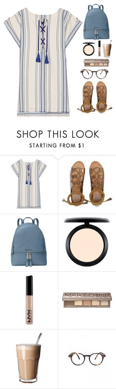 """Без названия #1660"" by anastasiiastyles ❤ liked on Polyvore featuring Lemlem, Billabong, Michael Kors, MAC Cosmetics, NYX and Urban Decay"
