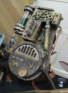 Steampunk Proton Pack
