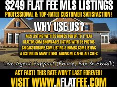 Illinois Discount Realtor providing access to the MLS for a Flat Fee of $249.