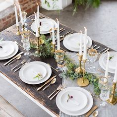 WEBSTA @ gregoryross - Too much goodness to fit into a small square, but we'll try.#grpsessions #wedding #tablescape #flowers #loft #calligraphy