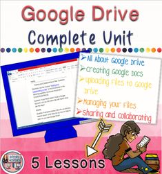 5 lesson unit on Google Drive for upper elementary and middle school students. $