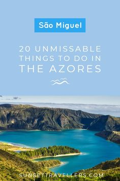 Sao Miguel – 20 Unmissable Things To Do On The Island Of Azores Sao Miguel – 20 unumgängliche Aktivitäten auf den Azoren Portugal Vacation, Portugal Travel, Spain Travel, Cool Places To Visit, Places To Travel, Places To Go, Travel Stuff, Travel Tips, Travel Ideas