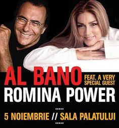 Al Bano and Romina Power to perform for the first time in Romania this November