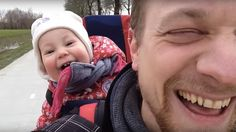 Baby's contagious laughter is the perfect way to end your week