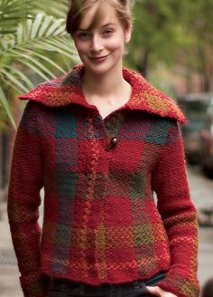Ravelry: Tartan Jacket pattern by Teva Durham