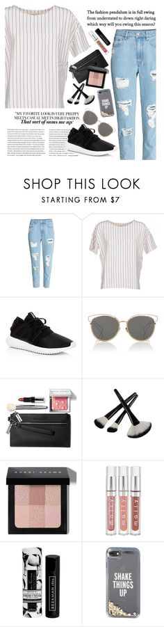 """""""Untitled #173"""" by valmatsier ❤ liked on Polyvore featuring BELLEROSE, adidas, Christian Dior, Bobbi Brown Cosmetics, Beekman 1802 and Kate Spade"""