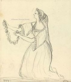 Empress Friedrich, consort of Friedrich III, Emperor of Germany & King of Prussia - A female figure Queen Victoria Children, Queen Victoria Prince Albert, Draw Show, Victoria's Children, King Of Prussia, Royal Art, Emperor, Royalty, Female