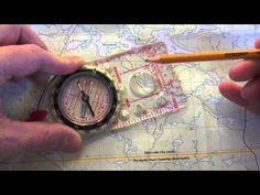 How to use a Compass - easy compass navigation with the Silva 1-2-3 system - YouTube