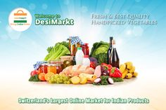 Here you will get best quality products online like Fresh Vegetables, Fruits, Beverages, Personal care products, Household items, Meat and Eggs, Bread, Grocery and Staples. Visit |www.desimarkt.ch Fresh Vegetables, Household Items, Cobb Salad, Switzerland, Beverages, Eggs, Personal Care, Bread, Indian