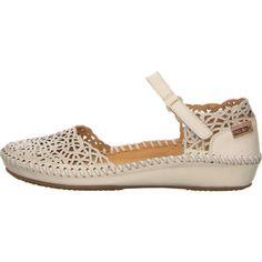 Pikolinos Vallarta Sandale in weiss jetzt bei Salamander shoppen Salamander, Ballerina, Heels, Fashion, Sandals, Heel, Moda, La Mode, Pumps Heels