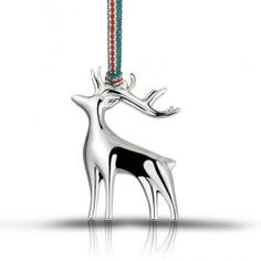 Newbridge Silverware Deer Decoration Irish Christmas, Christmas Is Coming, Christmas Deer Decorations, Swarovski Jewelry, Silver Plate, Jewels, Crystals, Gifts, Presents