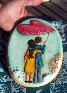 cookie icing with edible paint