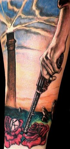 Awesome Dark Tower piece by Emily at 717 Tattoo