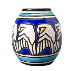 Charles Catteau Art Deco Vase