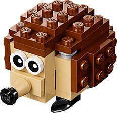 FREE LEGO Hedgehog Mini Model Build on http://www.icravefreebies.com/