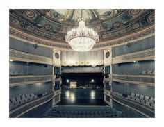 French photographer Franck Bohbot seris based on the interiors of historical Parisian theaters. Bohbot strived to capture the cultural life of the architecture with the absence of people, paying homage to the empty theater. Naked, the photographs reveal a sense of grandeur and intimacy.